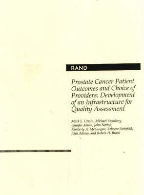 Prostate Cancer Patient Outcomes and Choice of Pro (Paperback)