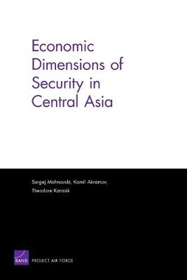 Economic Dimensions of Security in Central Asia (Paperback)