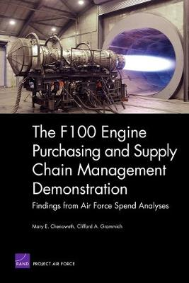 The F100 Engine Purchasing and Supply Chain Management Demonstration: Findings from Air Force Spend Analyses (Paperback)
