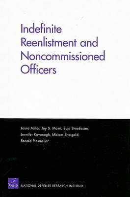 Indefinite Reenlistment and Noncommissioned Officers (Paperback)