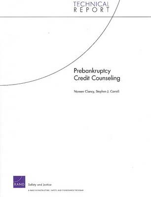 Prebankruptcy Credit Counseling (Paperback)