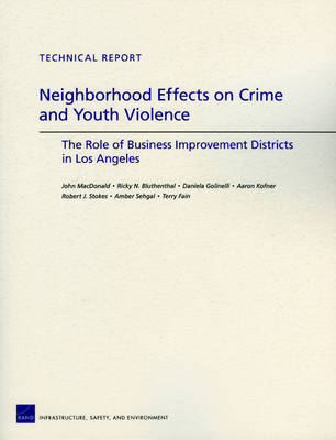 Neighborhood Effects on Crime and Youth Violence: the Role of Business Improvement Districts in Los Angeles (Paperback)