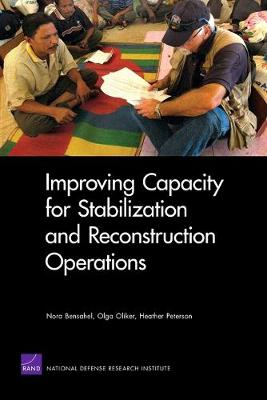 Improving Capacity for Stabilization and Reconstruction Operations (Paperback)