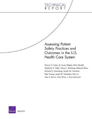 Assessing Patient Safety Practices and Outcomes in the U.S. Health Care System (Paperback)