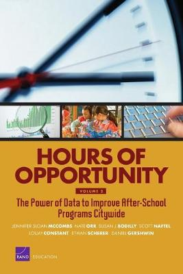Hours of Opportunity: The Power of Data to Improve After-School Programs Citywide (Paperback)