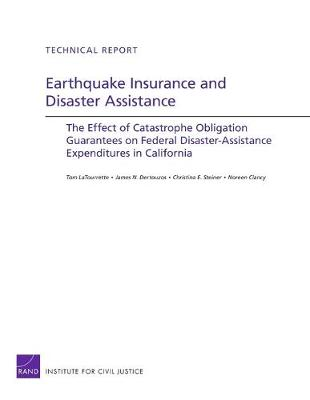 Earthquake Insurance and Disaster Assistance: The Effect of Catastrophe Obligation Guarantees on Federal Disaster-Assistance Expenditures in California (Paperback)