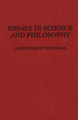 Essays in Science and Philosophy (Hardback)