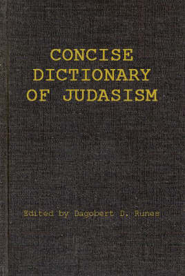 Concise Dictionary of Judaism (Hardback)