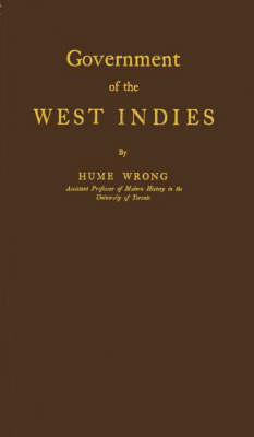 Government of the West Indies (Hardback)