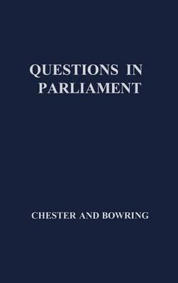 Questions in Parliament (Hardback)