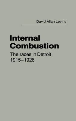 Internal Combustion: The Races in Detroit, 1915-1926 (Hardback)