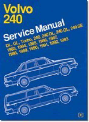 Volvo 240 Service Manual 1983-93 (Paperback)