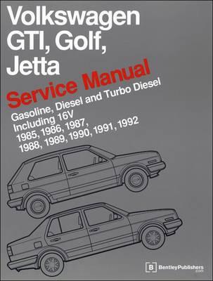 volkswagen gti golf jetta service manual 1985 1992 by bentley rh waterstones com vw mk2 bentley manual pdf bentley vw service manual