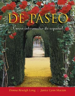 De paseo: Curso intermedio de espanol (Paperback)