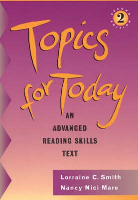 Topics for Today Internat Edtn (Paperback)