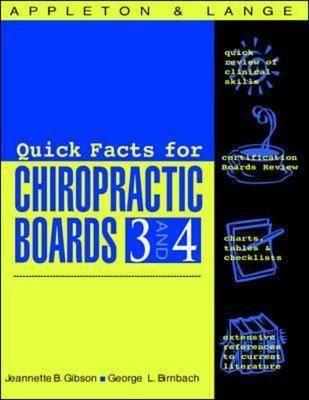 Appleton & Lange's Review for the Chiropractic Boards: Pt. 3 & 4 - Appleton & Lange Review Book (Paperback)