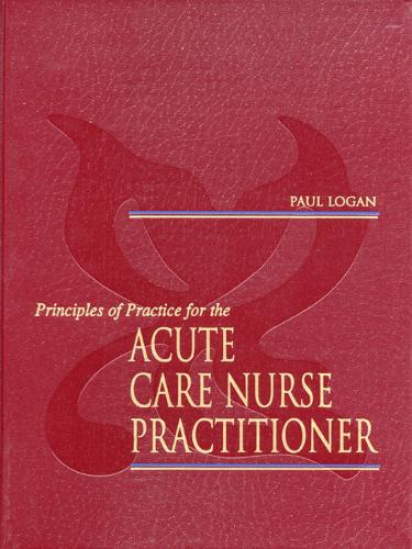 Principles of Practice for the Acute Care Nurse Practitioner (Paperback)
