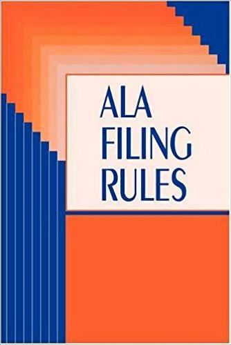 American Library Association Filing Rules (Paperback)