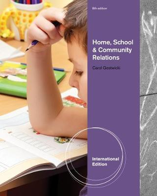 Home, School, and Community Relations, International Edition (Paperback)