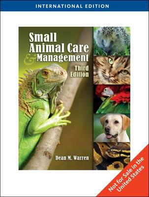 Small Animal Care and Management (Paperback)