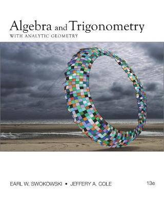 Algebra and Trigonometry with Analytic Geometry (Hardback)