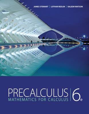 Study Guide for Stewart/Redlin/Watson's Precalculus: Mathematics for Calculus (Paperback)