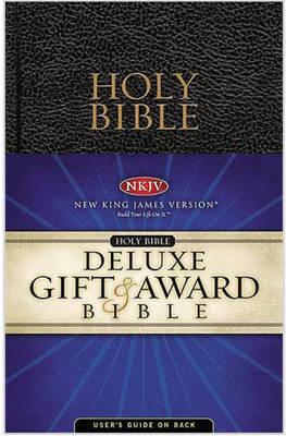 NKJV, Gift and Award Bible, Imitation Leather, Black (Paperback)