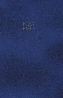 NKJV, Gift and Award Bible, Imitation Leather, Blue (Paperback)