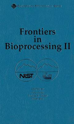 Frontiers in Bioprocessing II - ACS Conference Proceedings Series (Hardback)