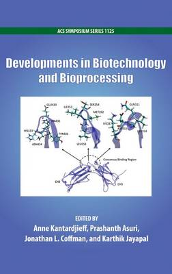 Developments in Biotechnology and Bioprocessing - ACS Symposium Series 1125 (Hardback)