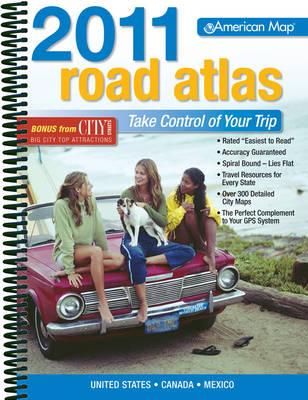 AMC USA Road Atlas 2011: Standard - AMC Road Atlas (Spiral bound)