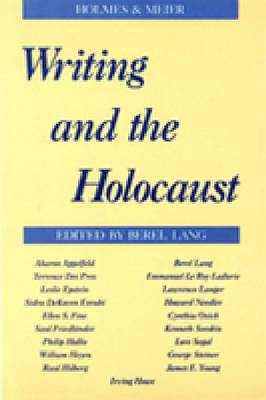 Writing and the Holocaust (Paperback)
