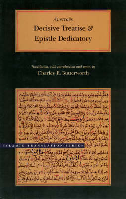 Decisive Treatise and Epistle Dedicatory - Islamic translation (Hardback)