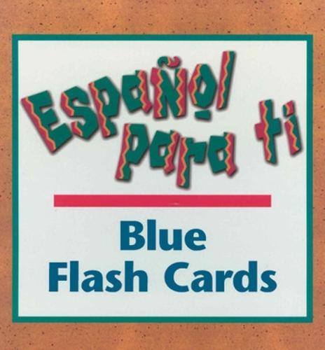 Espanol para ti Level 5, Blue Flash Cards - ESPANOL PARA TI (Paperback)