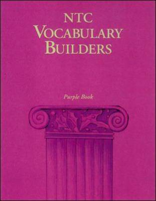 NTC Vocabulary Builders, Purple Book - Reading Level 7.0: Reading Level 7.0 (Paperback)