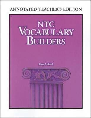 NTC Vocabulary Builders, Purple Book by McGraw-Hill Education | Waterstones