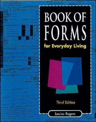 Book of Forms (Paperback)