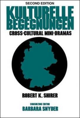 Kulturelle Begegnungen: Cross-cultural Mini-dramas (Paperback)