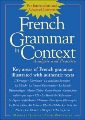 French Grammar in Context (Paperback)