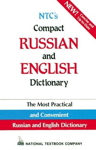 NTC's Compact Russian and English Dictionary (Paperback)