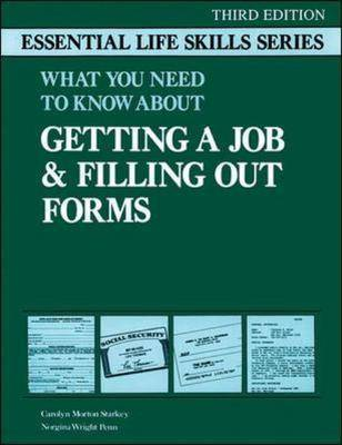 Getting a Job and Filling Out Forms (Paperback)