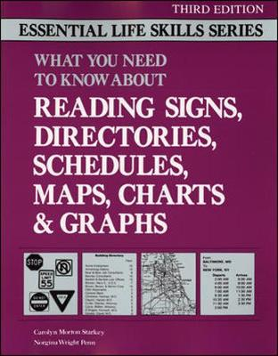 Reading Signs, Directories, Schedules, Maps, Charts & Graphs (Paperback)