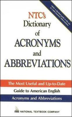 N.T.C.'s Dictionary of Acronyms and Abbreviations (Paperback)