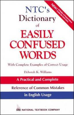 NTC's Dictionary of Easily Confused Words (Paperback)