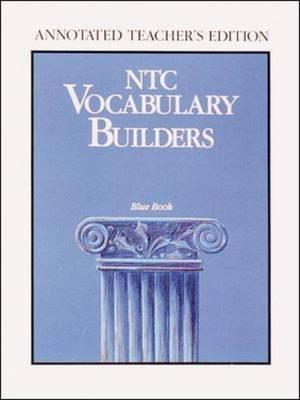 NTC Vocabulary Builders, Blue Book: Teachers Edition (Paperback)