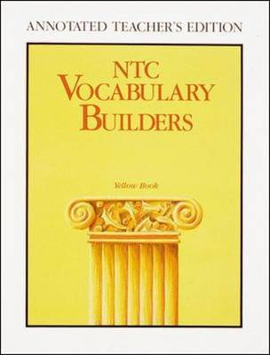 NTC Vocabulary Builders, Yellow Book by McGraw-Hill Education | Waterstones