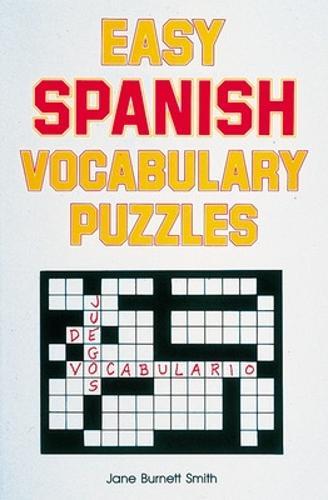 Easy Spanish Vocabulary Puzzles (Paperback)