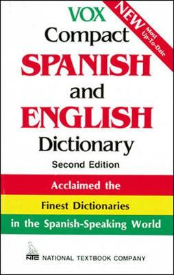 Vox Compact Spanish and English Dictionary - Vox Dictionary Series (Hardback)
