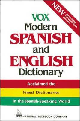 Vox Modern Spanish and English Dictionary - Vox Dictionary Series (Paperback)