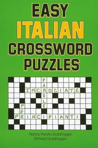 Easy Italian Crossword Puzzles (Paperback)